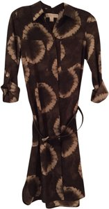 Michael Kors short dress Brown/Tan on Tradesy
