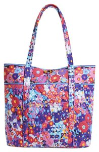 Vera Bradley Quilted Impressionista Tote in Multicolored