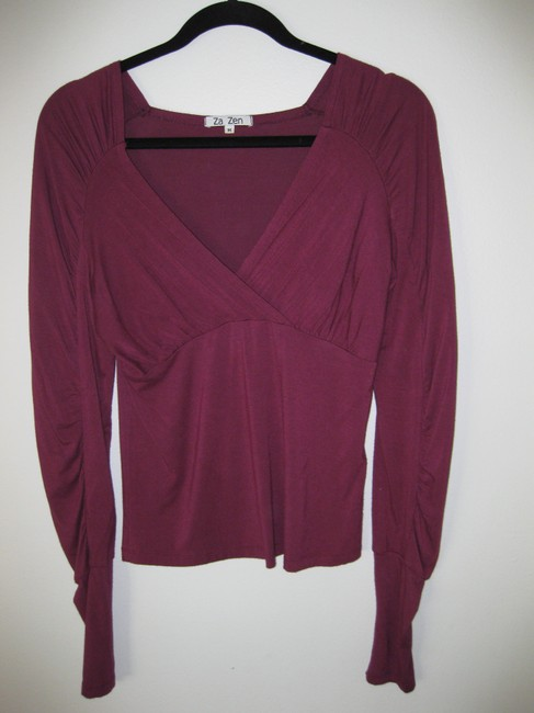REI and Za Zen (2 shirts) Dressy Work Casual Casual Flattering Sweater