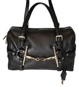 Gucci Limited Edition Anniversary Satchel in Black