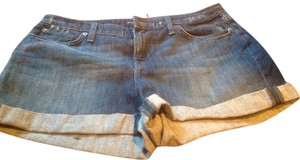 Banana Republic Mini/Short Shorts Dark denim wash