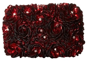 Alice + Olivia red Clutch