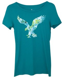 American Eagle Outfitters T Shirt Teal