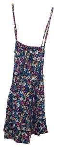 French Connection short dress Multi Color Floral on Tradesy
