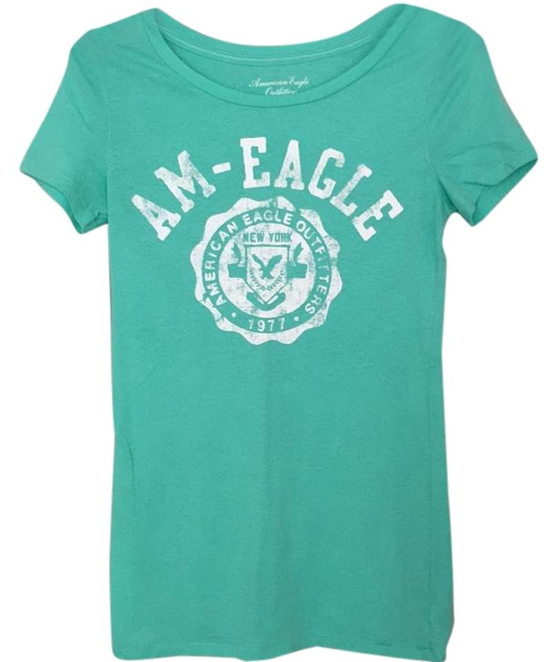 cd2b0f0307 American Eagle Outfitters Mint Tee Shirt Size 4 (S) - Tradesy