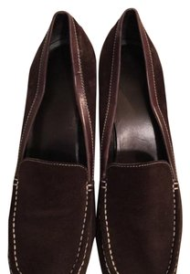 Nine West Brown and cream Pumps