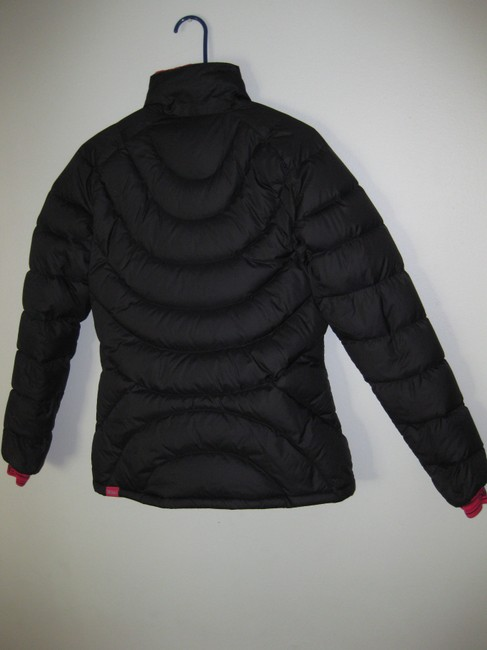 Stoic Luft Down Jacket 750-fill Lightweight, Packable STOIC Black, Neon Pink Down Jacket