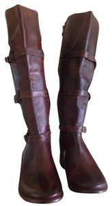 Bed|Stü Kitty Riding Leather Cognac Boots