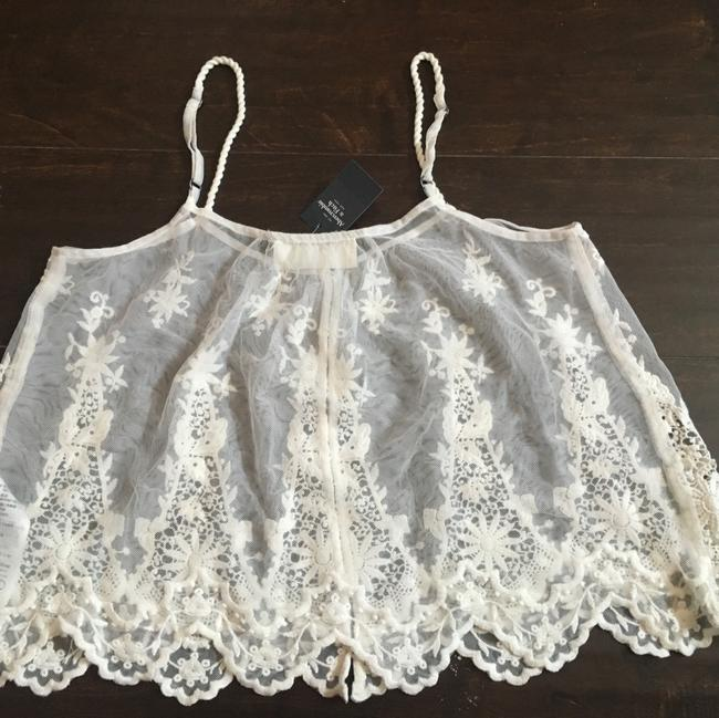 Abercrombie & Fitch Top Ivory