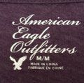 American Eagle Outfitters T Shirt Purple Image 1