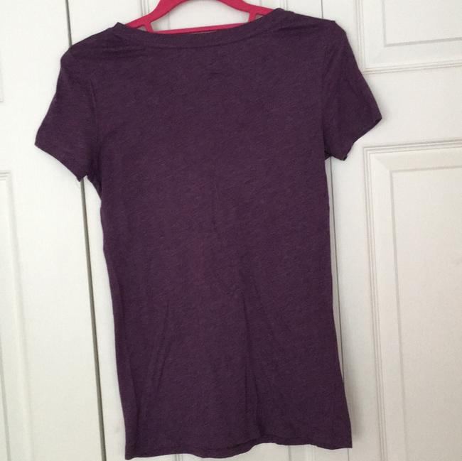 American Eagle Outfitters T Shirt Purple Image 2