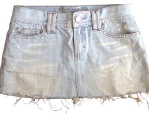 Abercrombie & Fitch Mini Skirt Light sedim