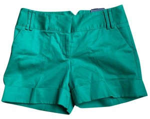 Express Dress Shorts Green