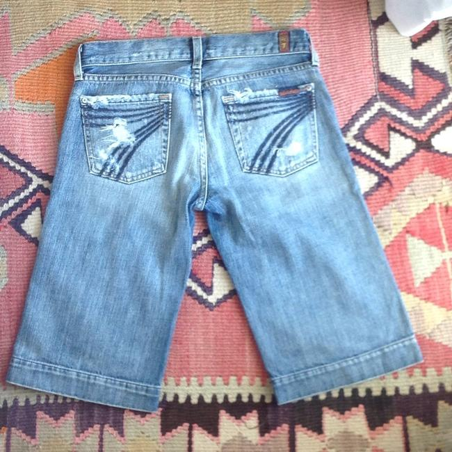 7 For All Mankind Denim Shorts Image 1