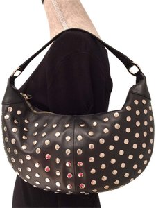 BCBGeneration Bcbg Bags Studded Bags Leather Bags Embellished Bags Hobo Bag