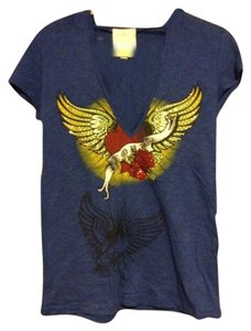 Romeo & Juliet Couture T Shirt Blue