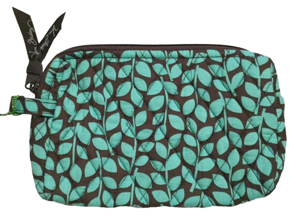 6d54e0607 Vera Bradley Shower Vines Small Zip Cosmetic Case Pouch Travel Bag Retired  Image 0 ...