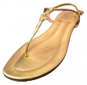 Tory Burch Emmy Style #12118209 Gold Sandals
