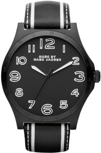 Marc Jacobs Marc Jacobs Women's Henry Black Trompe Leather Watch MBM1233