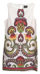 Laundry by Shelli Segal short dress Bright print in white on Tradesy