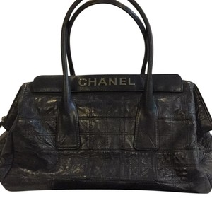 Chanel Satchel in Navy Blue