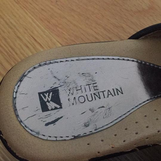 White Mountain Black Mules Image 2