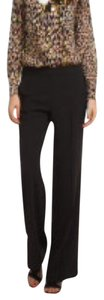 Trina Turk Classic Business Attire Basics Trouser Pants Black