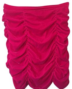 H&M Mini Skirt Fuschia