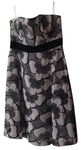 Kay Unger Lace Strapless A-line Vintage Style Dress
