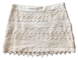 Forever 21 Mini Skirt White