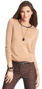 Ann Taylor Wool Faux Keyhole Sweater