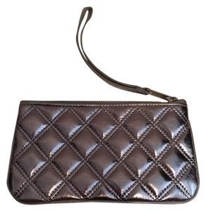 Marc Jacobs Metallic Silver Clutch