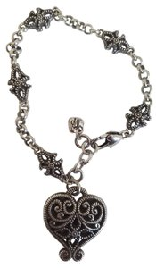 Brighton Brighton Antiqued Single Heart Bracelet