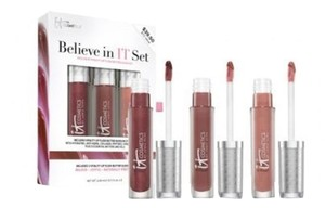 IT Cosmetics Brand New IT Cosmetics Exclusive Vitality Lip Butter Gloss Set of 3: Limited Edition