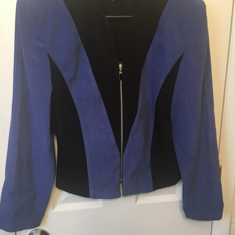 Find great deals on eBay for women black blazers. Shop with confidence. Skip to main content. eBay: St. John Blue And Black Glitter Career Blazer Jacket 1 Button Womens Sz Pre-Owned. New York And Company Womens Black Blazer With White Trim Size 2.