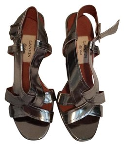 Lanvin Metallic silver Sandals
