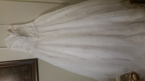 Oleg Cassini Ct258white Wedding Dress