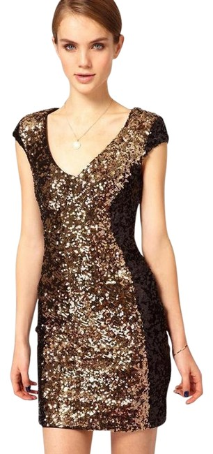 Preload https://img-static.tradesy.com/item/19017508/french-connection-black-and-gold-moonray-sequined-above-knee-cocktail-dress-size-0-xs-0-1-650-650.jpg