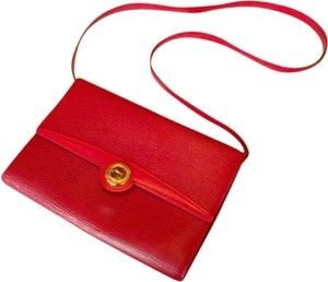 Louis Vuitton Red Clutch