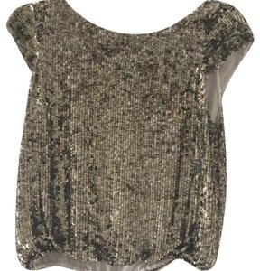 Alice + Olivia Top Metallic