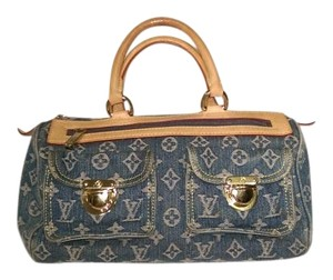 Louis Vuitton Speedy Neo Satchel in denim