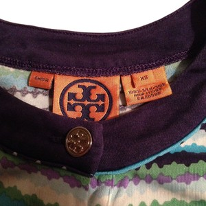 Tory Burch Button Down Shirt Purple/multi