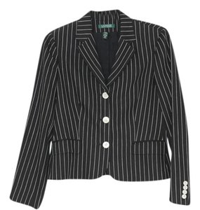 Ralph Lauren Black and White pinstripe Blazer