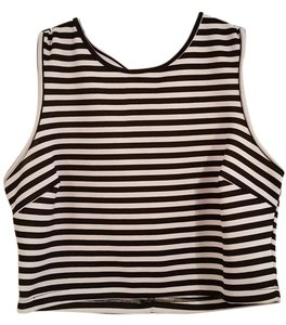 I 'Heart' Ronson Crop Striped Top