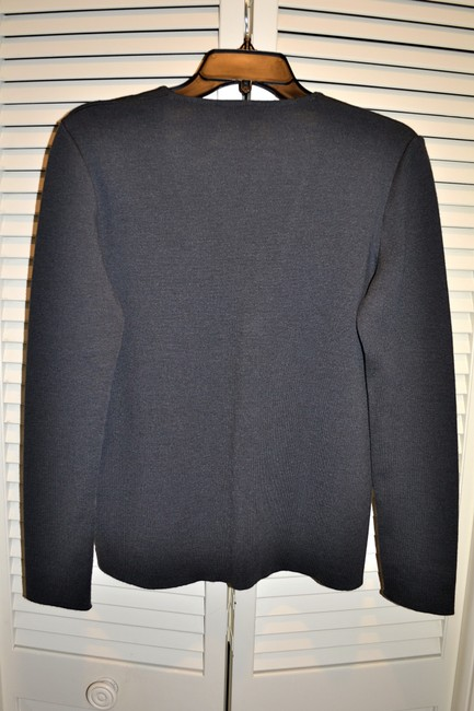 Gucci Italy Wool Blend Tailored Sweater Cardigan Image 1