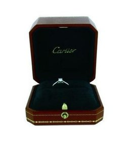 New Cartier Solitaire 1895 0.70ct Serial Number - 80776f