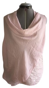 Prontomoda Giusy Pronotmoda Guisy Italian Made Silk Sequin Blush Pink Top Pink Blush