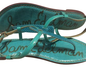 Sam Edelman Teal/Blue Sandals