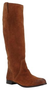Urban Outfitters Bdg Suede Riding Boot Pull On Brown Boots