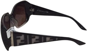 Fendi Fendi Black And Silver Sunglasses